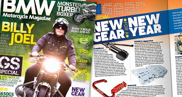BMW Motorcycle Magazine - Winter, 2011