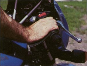 Crampbuster - Motorcycle Wrist Rest